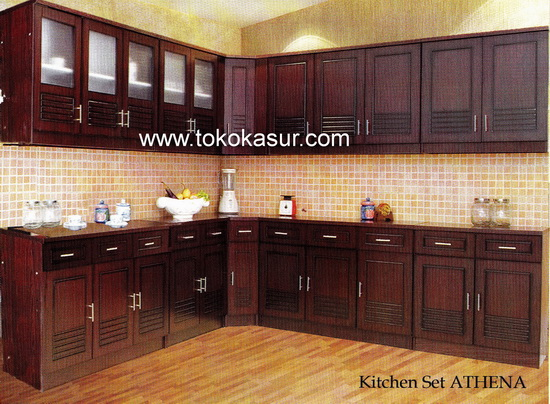 Kitchen set olympic for Harga kitchen set sederhana
